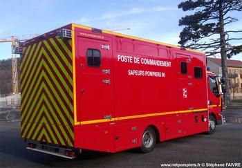 Véhicule poste de commandement, Sapeurs-pompiers, Territoire-de-Belfort (90)