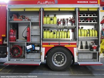 Fourgon-pompe tonne secours routier, Sapeurs-pompiers, Drôme (26)