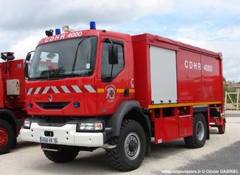 Dévidoir automobile, Sapeurs-pompiers, Charente
