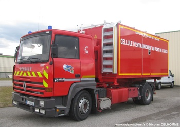 Véhicule porte-cellule, Sapeurs-pompiers, Allier