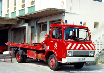 Véhicule porte-engin, Sapeurs-pompiers, Rhône (69)