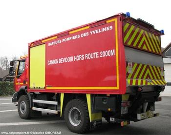 Dévidoir automobile, Sapeurs-pompiers, Yvelines (78)
