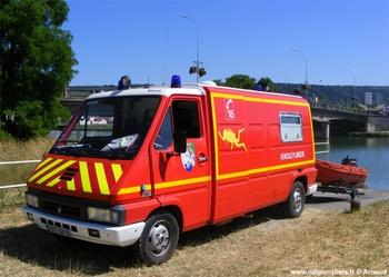 Véhicule de secours nautique, Sapeurs-pompiers, Meuse (55)