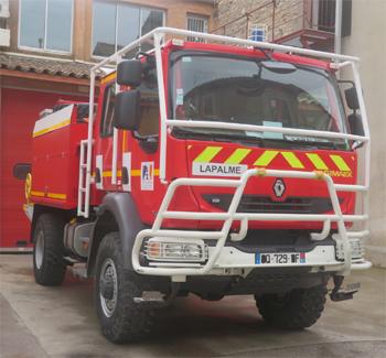<h2>Camion-citerne pour feux de forêts - La Palme - Aude (11)</h2>
