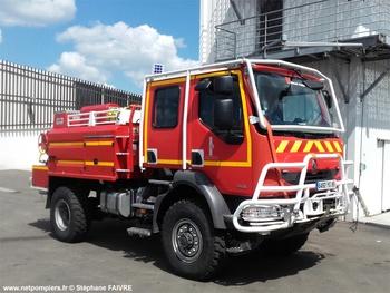 Camion-citerne pour feux de forêts, Sapeurs-pompiers, Vendée