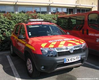 Véhicule léger infirmier, Sapeurs-pompiers, Var (83)