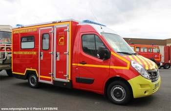 Véhicule de secours et d'assistance aux victimes, Sapeurs-pompiers, Loir-et-Cher (41)