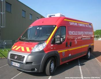 Véhicule pour interventions cynotechniques, Sapeurs-pompiers, Val-d'Oise (95)