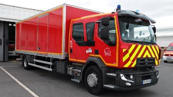 Véhicule de logistique, Sapeurs-pompiers, Seine-et-Marne (77)
