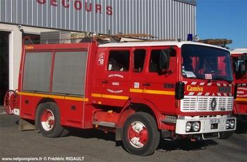 <h2>Fourgon-pompe tonne - Buzançais - Indre (36)</h2>