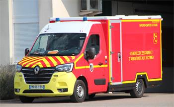 Véhicule de secours et d'assistance aux victimes, Sapeurs-pompiers, Doubs