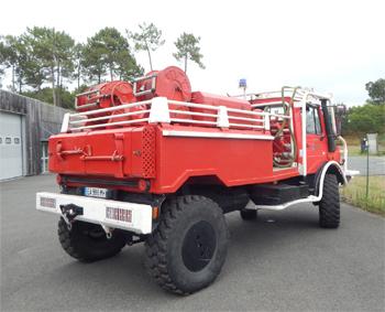 <h2>Camion-citerne pour feux de forêts - Albret Moïsan - Landes (40)</h2>