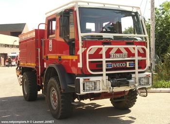 Camion-citerne pour feux de forêts, Marine nationale, Var (83)