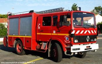 <h2>Fourgon-pompe tonne - Saint-Denis-d'Oléron - Charente-Maritime (17)</h2>