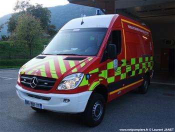 Véhicule de secours et d'assistance aux victimes, Sapeurs-pompiers, Isère