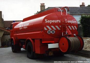 Camion-citerne de grande capacité, Sapeurs-pompiers, Nord (59)