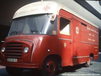 Caisson mobile hyperbare, Sapeurs-pompiers de Paris,  ()