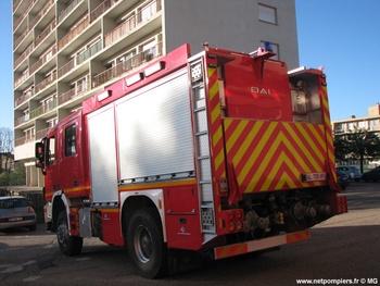 Fourgon dévidoir de grande puissance, Sapeurs-pompiers, Moselle (57)