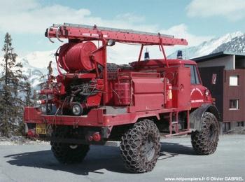 Camion-citerne pour feux de forêts, Sapeurs-pompiers, Savoie (73)