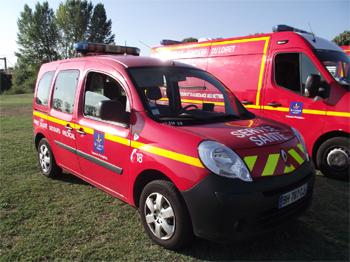Véhicule radio médicalisé, Sapeurs-pompiers, Loiret (45)