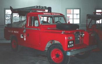 Véhicule de première intervention, Sapeurs-pompiers, Haute-Savoie (74)