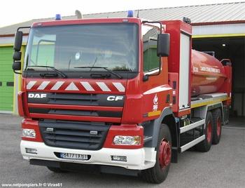 Camion-citerne de grande capacité, Sapeurs-pompiers, Orne