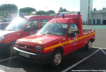 Véhicule pour interventions diverses, Sapeurs-pompiers, Alpes-Maritimes