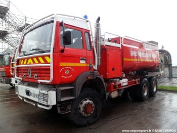 Camion-citerne de grande capacité, Sapeurs-pompiers, Bouches-du-Rhône