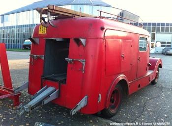 Fourgon d'incendie normalisé, Sapeurs-pompiers, Moselle (57)
