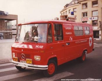 Véhicule poste de commandement, Sapeurs-pompiers, Somme (80)