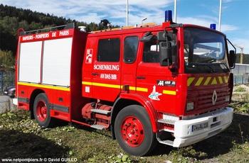 Premier secours tonne, Sapeurs-pompiers de Paris,  ()