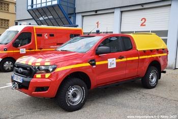Véhicule de liaison, Sapeurs-pompiers, Ain (01)