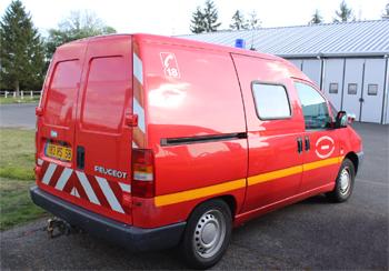 Véhicule d'accompagnement, Sapeurs-pompiers, Nièvre (58)