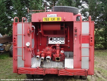 <h2>Fourgon-pompe tonne - Vaour - Tarn (81)</h2>