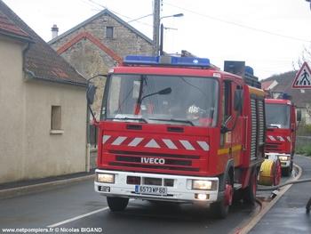 Fourgon-pompe tonne léger, Sapeurs-pompiers, Oise (60)