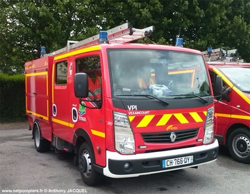 Véhicule de première intervention, Sapeurs-pompiers, Vosges (88)