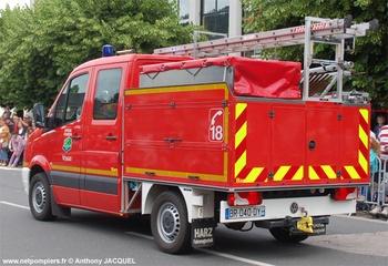 Véhicule de première intervention, Sapeurs-pompiers, Vosges