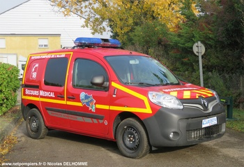 Véhicule radio médicalisé, Sapeurs-pompiers, Allier (03)