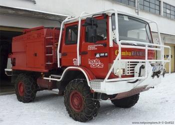 <h2>Camion-citerne pour feux de forêts - Chamonix - Haute-Savoie (74)</h2>
