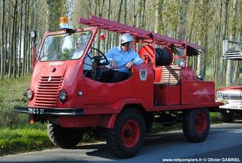 Camion-citerne pour feux de forêts léger, Sapeurs-pompiers, Eure (27)