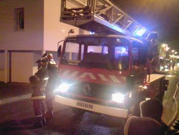 Echelle pivotante, Sapeurs-pompiers, Vienne (86)