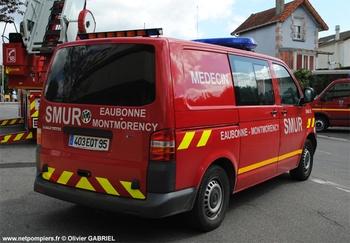 Véhicule radio médicalisé, Sapeurs-pompiers, Val-d'Oise (95)