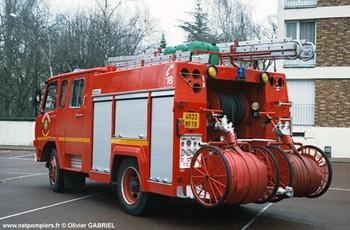 <h2>Fourgon-pompe tonne - Le vésinet - Yvelines (78)</h2>