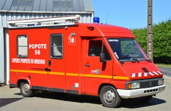 Véhicule de soutien logistique, Sapeurs-pompiers, Morbihan (56)