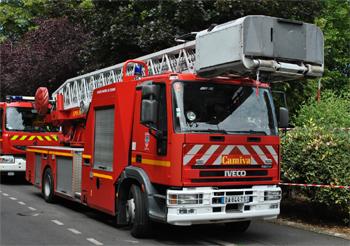 Echelle pivotante, Sapeurs-pompiers, Essonne (91)