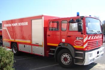 Fourgon-pompe dévidoir, Sapeurs-pompiers, Calvados (14)