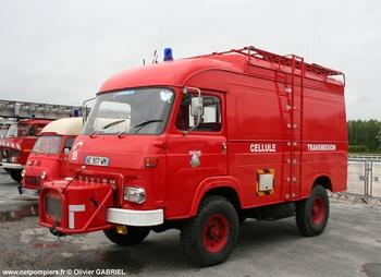 Véhicule poste de commandement, Sapeurs-pompiers, Eure (27)