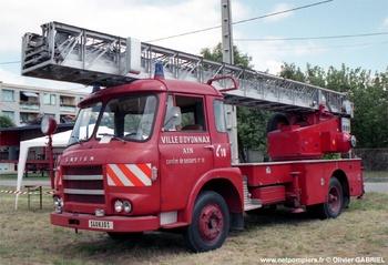 Echelle pivotante, Sapeurs-pompiers, Ain (01)