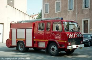 Fourgon-pompe tonne, Sapeurs-pompiers, Vaucluse (84)