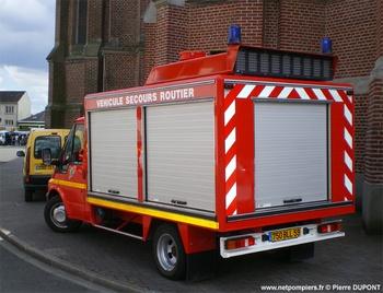 Véhicule de secours routier, Sapeurs-pompiers, Nord (59)